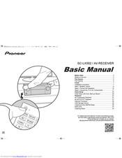 Pioneer VSX-LX302 Manuals