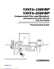 Ademco VISTA-128FBP Manuals