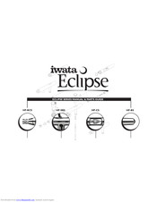 Iwata Eclipse HP-CS Manuals