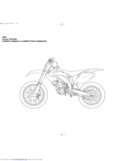 Honda CRF450R Manuals