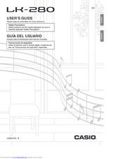 Casio LK-280 Manuals