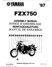 Yamaha FZX750 1987 Manuals