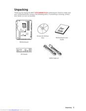 Msi Z370 GAMING PLUS Manuals