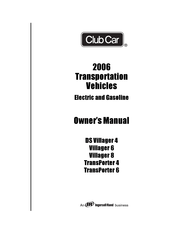 Club Car Carryall 2 Plus Manuals