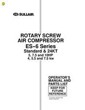 Sullair ES-6 10H Manuals