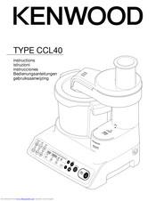 Kenwood CCL40 Manuals