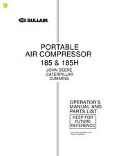 Sullair 185 Manuals