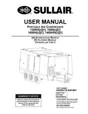 Sullair 1450HH Manuals