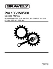 Gravely 988059 Manuals