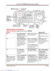 Icom IC-706MKIIG Manuals