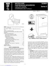 Bryant CONDENSING GAS FURNACE 355MAV Manuals