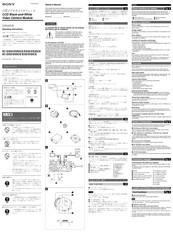 Sony XC-ES30 Manuals