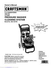 Craftsman 580.752700 Manuals