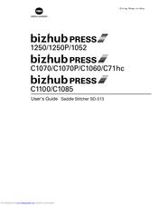 Konica Minolta bizhub press c71hc Manuals