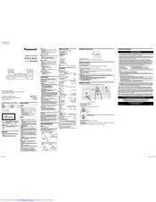 Panasonic SC-UX100 Manuals