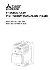 Mitsubishi Electric FR-CS84-022 Manuals