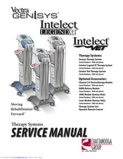 Chattanooga Group Intelect Legend XT Manuals