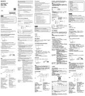 Sony NWZ-B183? NWZ-B183F Manuals
