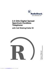 Radio shack 2.4 GHz Digital Spread Spectrum Cordless