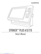 Garmin STRIKER PLUS 5 Manuals