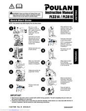 Poulan Pro PL3816 Manuals