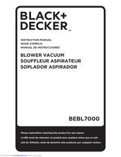 Black+decker BEBL7000 Manuals