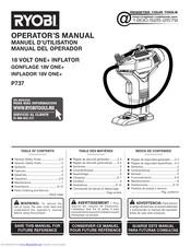 Ryobi P737 Manuals