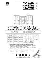 Aiwa NSX-SZ319 Manuals