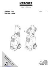 Kärcher Xpert HD 7125 Manuals