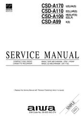 Aiwa CSD-A100 Manuals