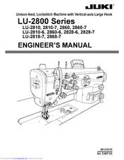 Juki LU-2810 Series Manuals