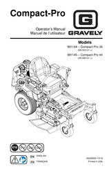 Gravely Compact-Pro 44 Manuals