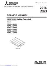 Mitsubishi Electric Mr.SLIM PEAD-A24AA7 Manuals