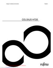 Fujitsu CELSIUS H720 Manuals