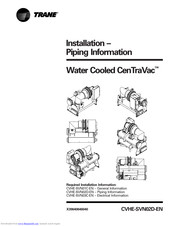 Trane CVHF Manuals