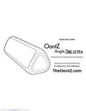 Oontz ANGLE 3XL Manuals