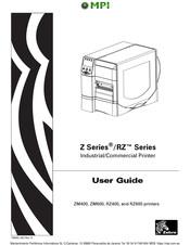 Zebra ZM600 Manuals