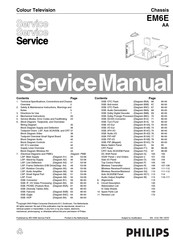 Philips 28PW9618 Manuals