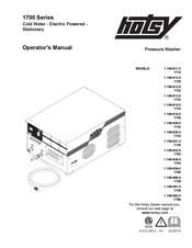 Hotsy 1725 Manuals