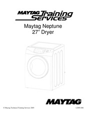 Maytag Neptune Series Manuals