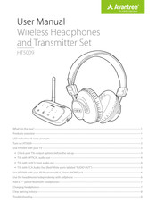 Avantree HT5009 Manuals