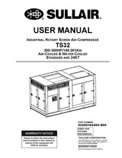 Sullair TS32-350 Manuals