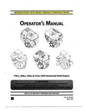Mtd 208cc Manuals