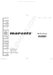 Marantz AV8801 Manuals