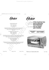 Oster TSSTTVSKBT Manuals