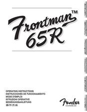 Fender Frontman 65R Manuals