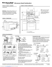 30 microwave hood combo manuals