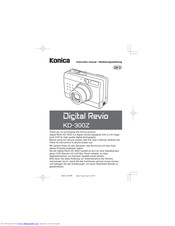 Konica Minolta Digital Revio KD-300Z Manuals