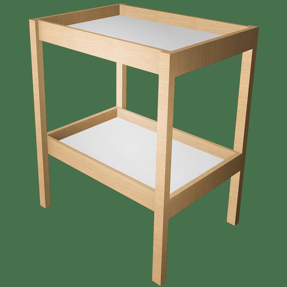 bim object sniglar changing table