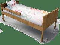 oggetto BIM - Kritter Child Bed - IKEA